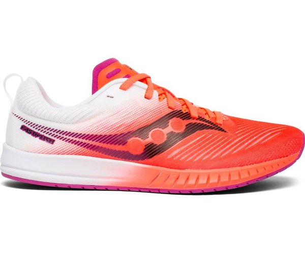 Saucony Fastwitch 9 - Women's Color: Vizi Red/White
