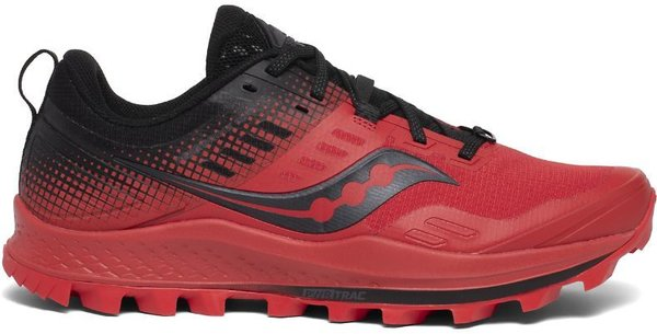 Saucony Peregrine 10 ST - Men's Color: Red/Black