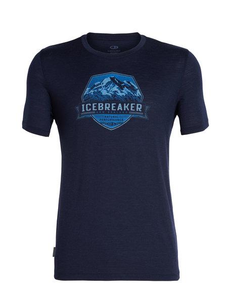 Icebreaker Tech Lite Short Sleeve Crewe Crook Crest - Men's