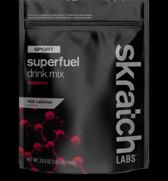 Skratch Labs Sport Superfuel Drink Mix - Raspberry 840g