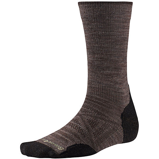 Smartwool PhD Outdoor Light Crew Socks - Men's Color: Taupe