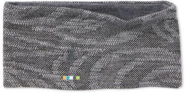 Smartwool Merino 250 Reversible Pattern Headband Color: Black Snow Swirl