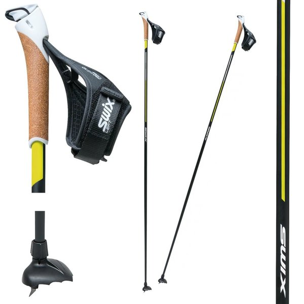 Swix Ski Pole Quantum Five Click