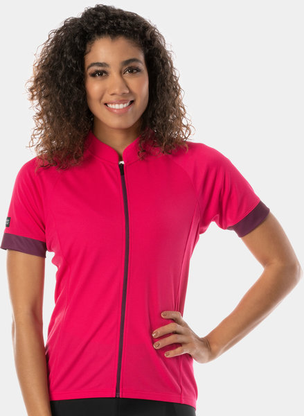Bontrager Solstice Cycling Jersey - Women's Color: Magenta