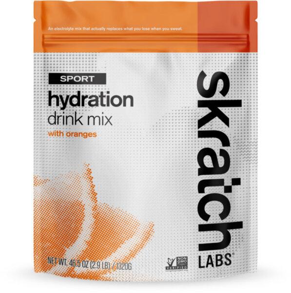 Skratch Labs Sport Hydration Drink Mix - Oranges - 1320g/3lb