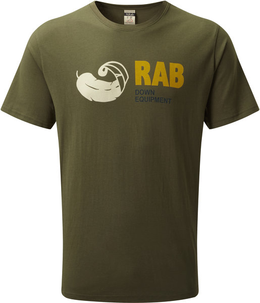 Rab Stance Vintage SS Tee - Men's Color: Army