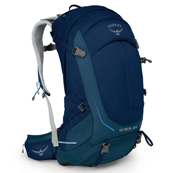 Osprey Stratos 34 Pack - Men's Color: Eclipse Blue