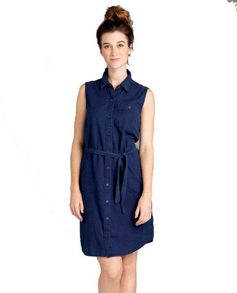 Toad & Co. Indigo Ridge Sleeveless Tie Dress - Women's