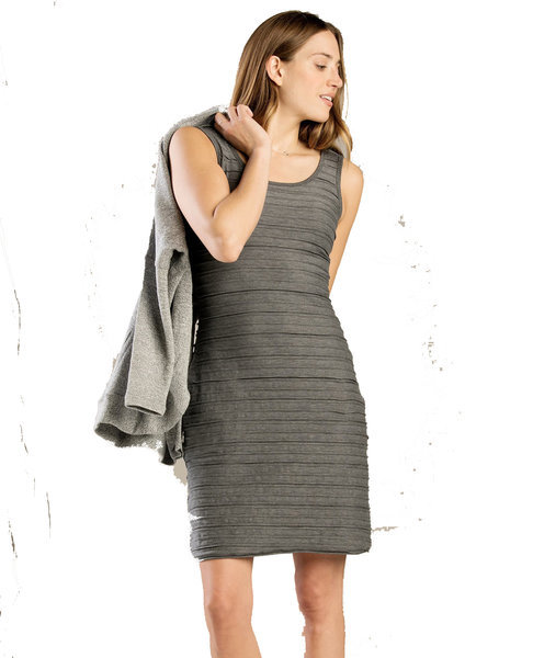 Toad & Co. Samba Flow Tank Dress - Women's Color: Charcoal Heather