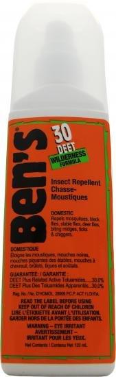 Ben's Ben's 30% Deet Insect Repellent Pump Spray 120ml / 4 oz