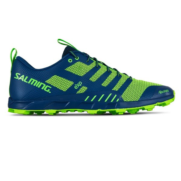 Salming OT Comp - Men's Color: Poseidon Blue/Safety Yellow