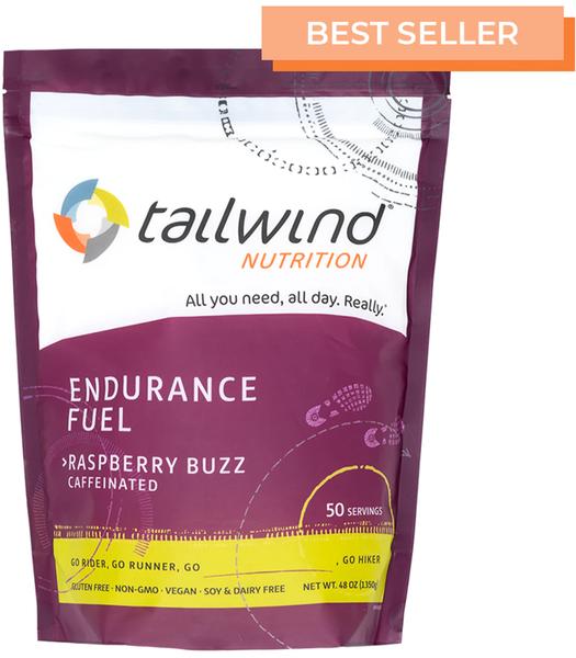 Tailwind Caffeinated Endurance Fuel - Raspberry Buzz - 50 Servings (1350g)