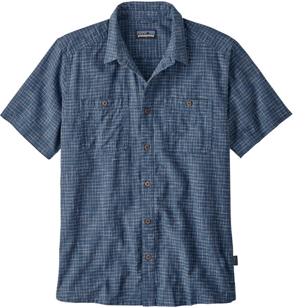 Patagonia Back Step Shirt - Men's Color: Trails: Stone Blue