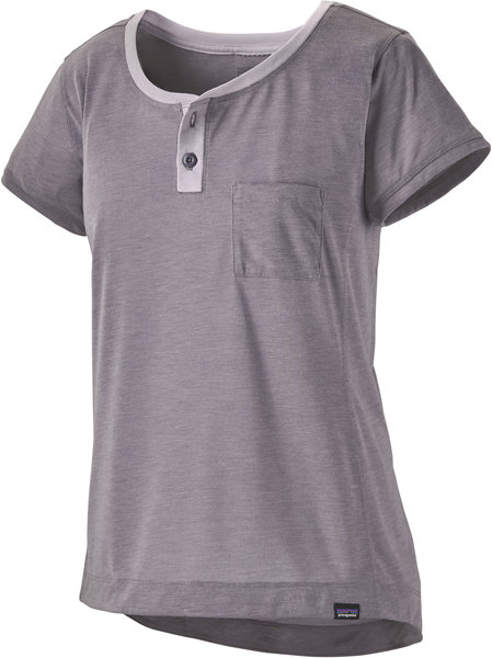 Patagonia Capilene Cool Trail Bike Henley - Women's Color: Smokey Violet