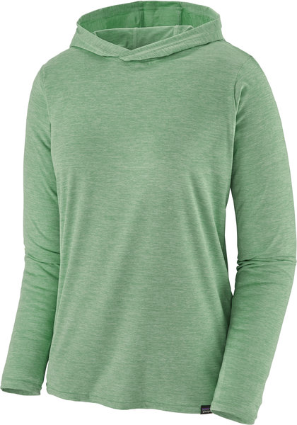 Patagonia Capilene Cool Daily Hoody - Women's Color: Gypsum Green - Light Gypsum Green X-Dye