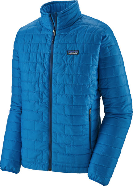 Patagonia Nano Puff Jacket - Men's Color: Andes Blue w/Andes Blue