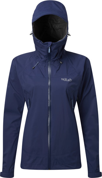 Rab Downpour Plus Jacket - Women's Color: Blueprint