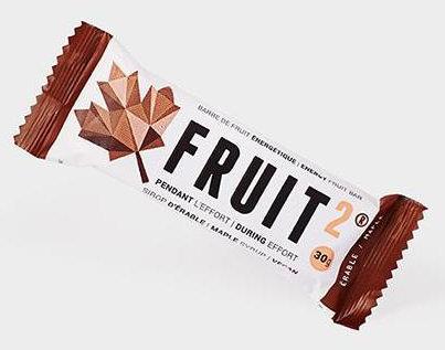 Xact Nutrition FRUIT2 Energy Fruit Bar - Maple (Single/30g)