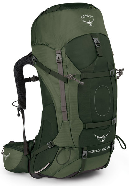 Osprey Aether AG 60 Pack - Men's Color: Adirondack Green