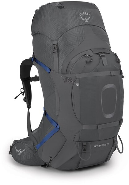 Osprey Aether Plus 70 Pack - Mens Color: Eclipse Grey