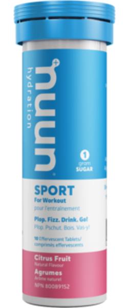 nuun Sport Hydration - Citrus Fruit (10 tablets)