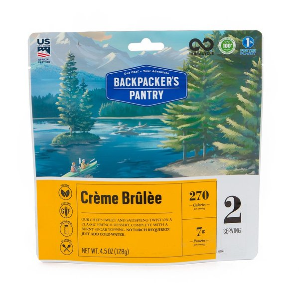 Backpacker's Pantry Creme Brulee (2 Servings)