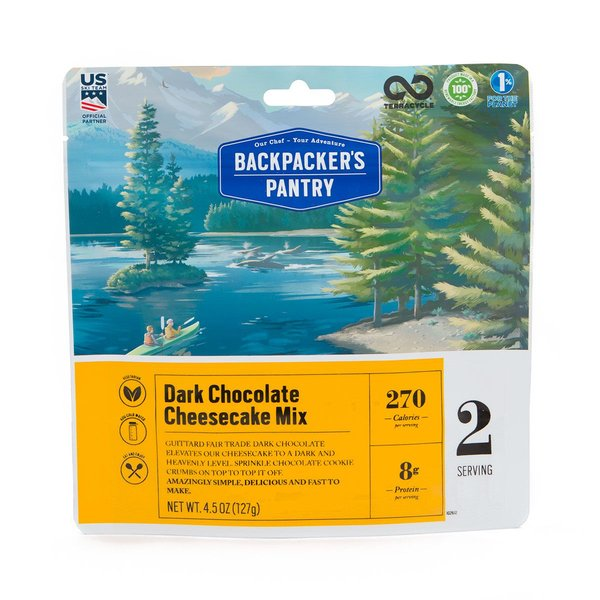 Backpacker's Pantry Dark Chocolate Cheesecake Mix (2 Servings)
