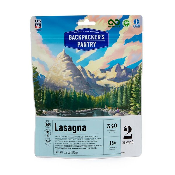 Backpacker's Pantry Lasagna (2 Servings)