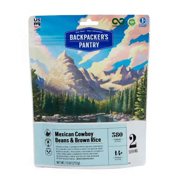Backpacker's Pantry Mexican Cowboy Beans & Rice (2 Servings)