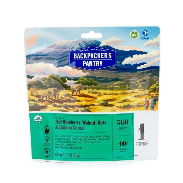 Backpacker's Pantry Organic Blueberry Walnut Oats & Quinoa (1 Serving)