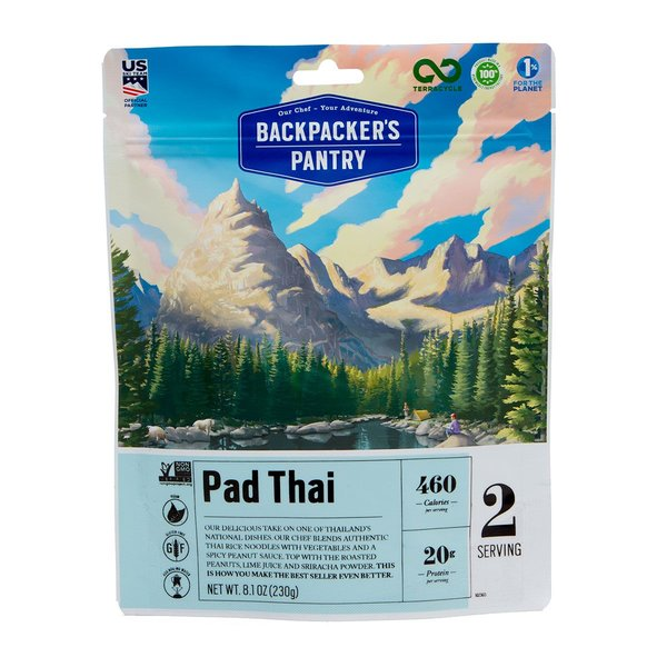 Backpacker's Pantry Pad Thai (2 Servings)