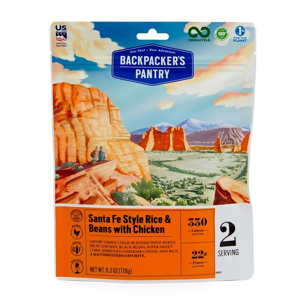 Backpacker's Pantry Santa Fe Style Rice & Beans with Chicken (2 Servings)