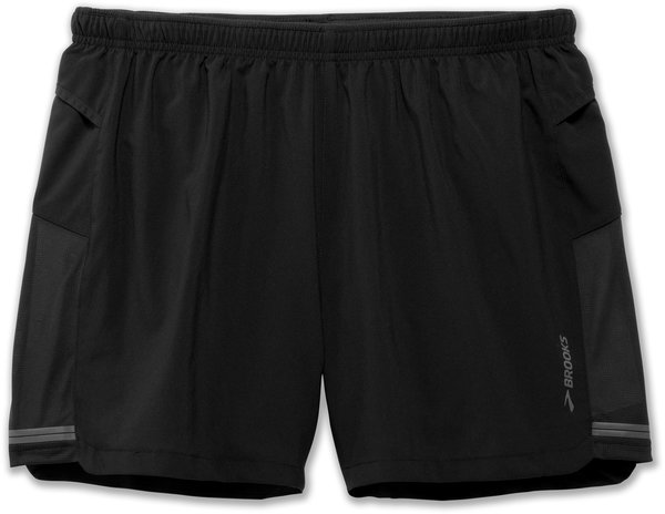 "Brooks Sherpa 5"" Short - Men's Color: Black"