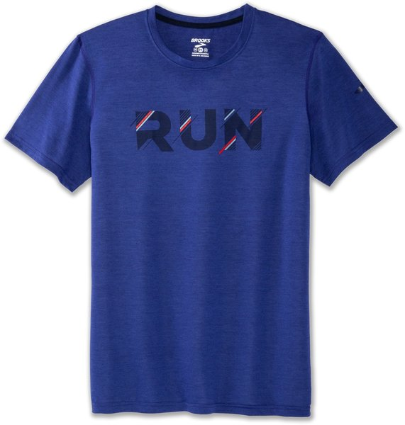 Brooks Distance Graphic Tee - Men's