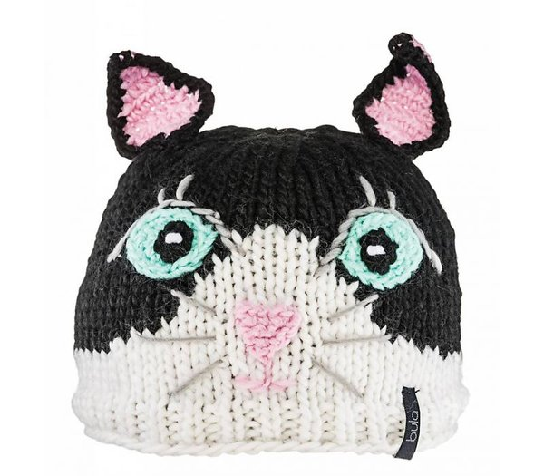Bula Puppet Beanie - Kid's Color: Kitty