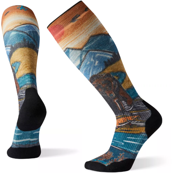 Smartwool PhD Snow Light Elite Print - Men's