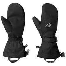 Outdoor Research Adrenaline Mitts Color: Black
