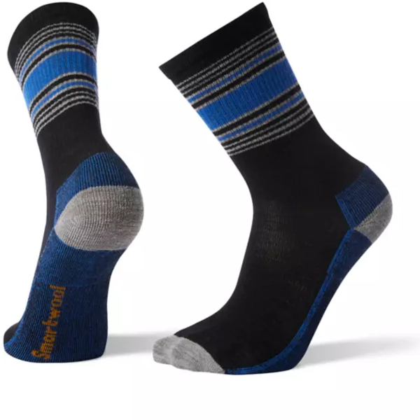 Smartwool Hike Striped Light Crew Socks - Men's