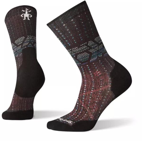 Smartwool PhD® Run Light Elite Print Crew Socks - Women's