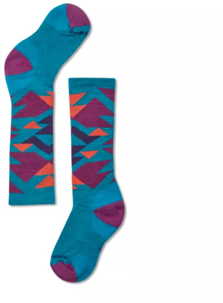 Smartwool Wintersport Neo Native Socks - Kid's Color: Capri