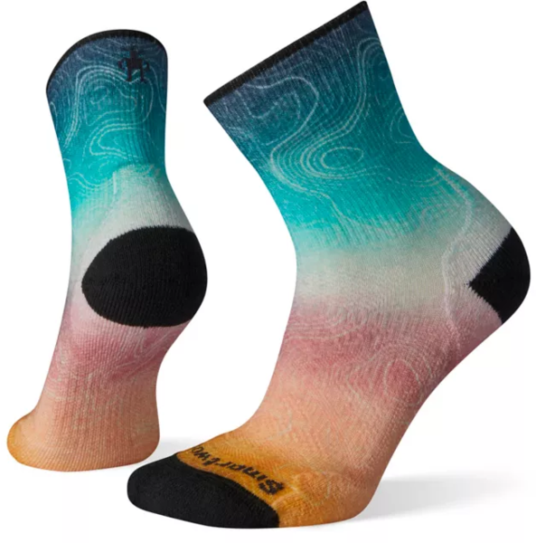 Smartwool PhD Outdoor Light Print Mid Crew - Women's