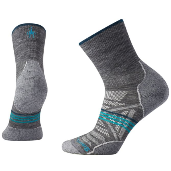 Smartwool PhD Outdoor Light Mid Crew Socks - Women's Color: Medium Gray