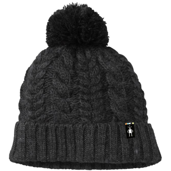 Smartwool Ski Town Hat Color: Charcoal Heather
