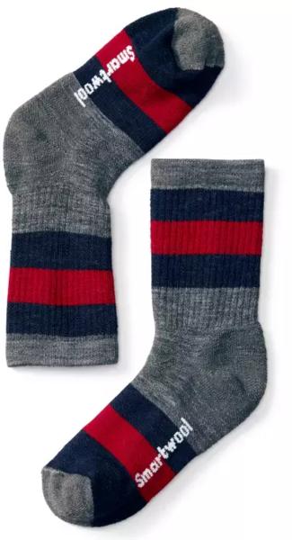 Smartwool Striped Hike Medium Crew Socks - Kid's