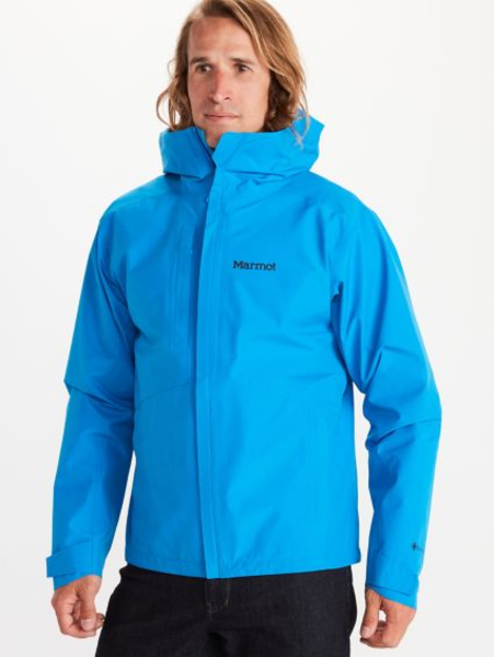 Marmot Minimalist GTX Jacket - Men's Color: Clear Blue