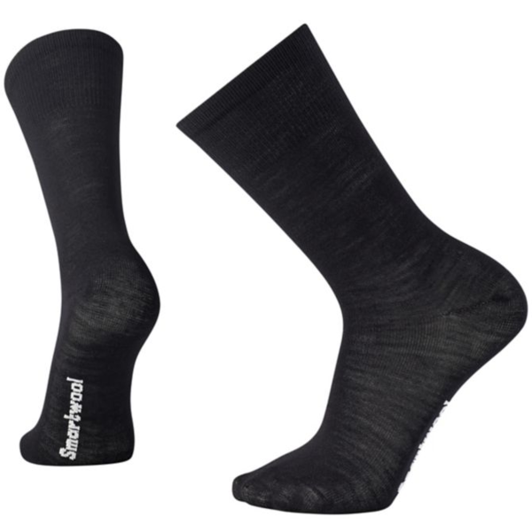 Smartwool Hike Liner Crew Socks Color: Black