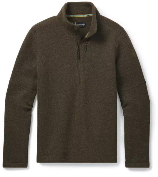 Smartwool Hudson Trail Fleece 1/2 Zip Sweater - Men's