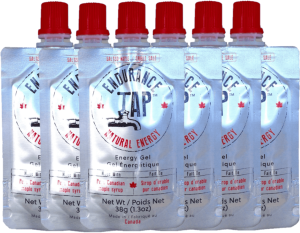 Endurance Tap Salted Maple Energy Gel - Box of 24