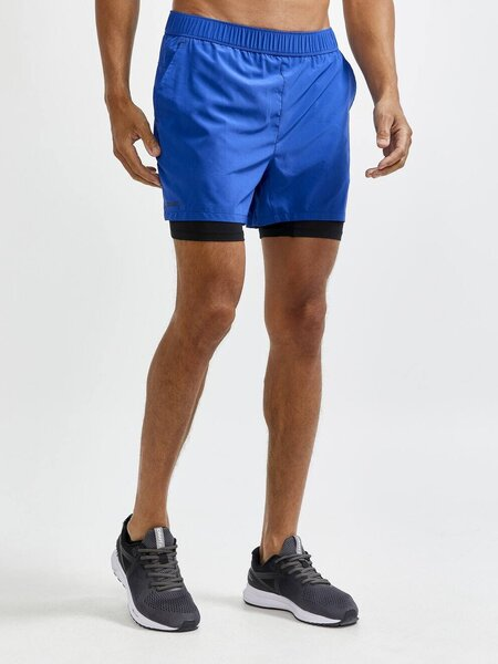 Craft ADV Essence 2-in-1 Stretch Shorts - Men's Color: Blaze