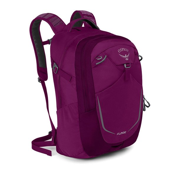 Osprey Flare 22 Color: Eggplant Purple